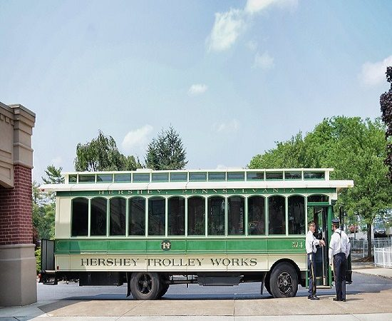 Attractions in Hershey PA, Hershey Trolly