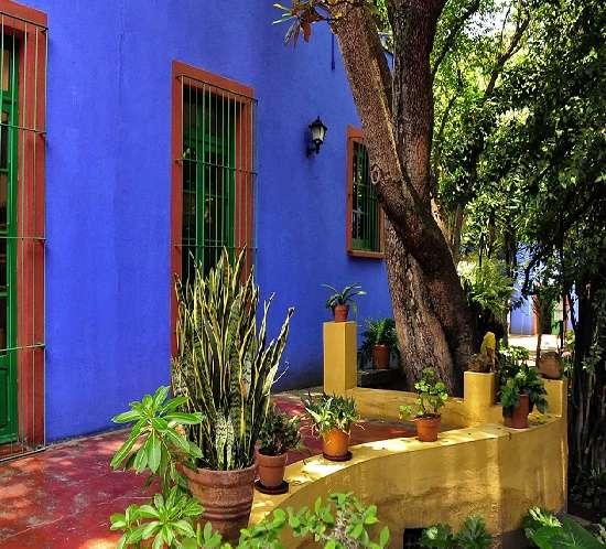 Museum Frida Kahlo House, Mexico City, Mexico