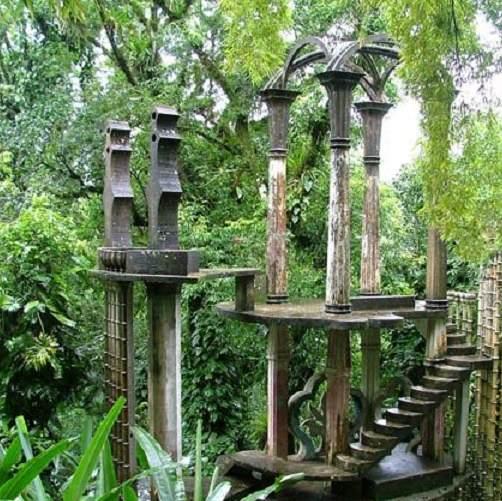 unique places to visit in mexico, Garden Las Pozas