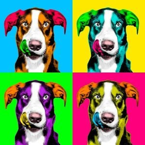 Andy Warhol your pet