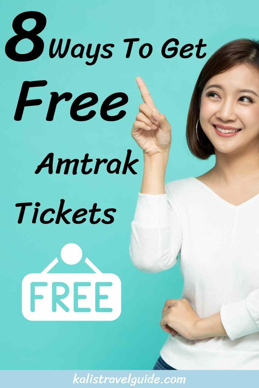 Free Amtrak Tickets