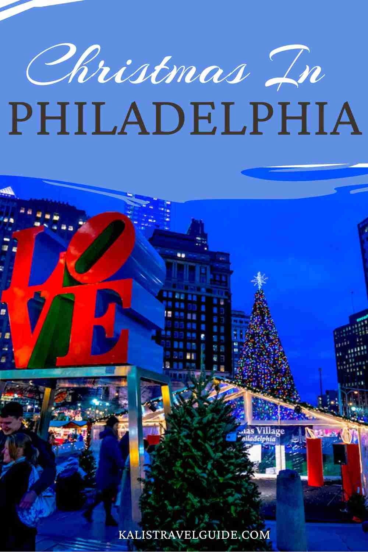 Philadelphia at Christmas